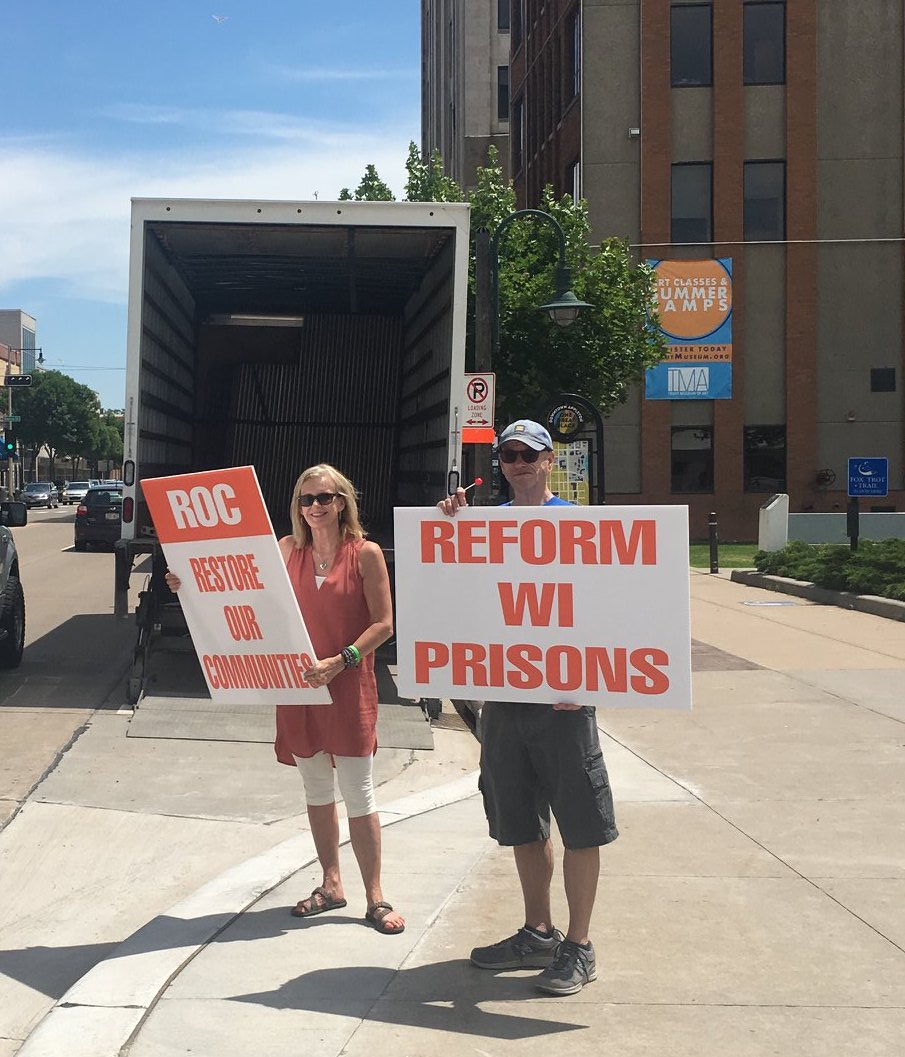 Prison Reform Sidewalk Outreach
