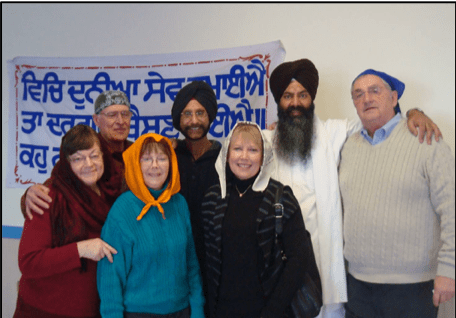 ESTHER Group visiting Sikh Temple of Menasha