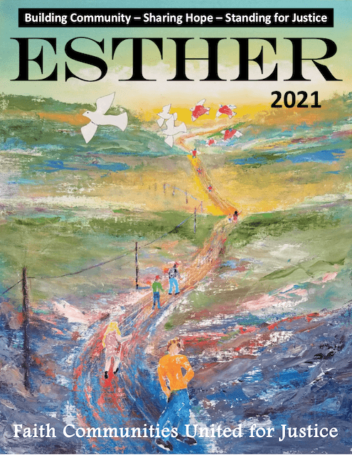 ESTHER 2021 Yearbook Cover