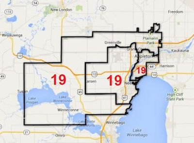 Senate District 19 Map