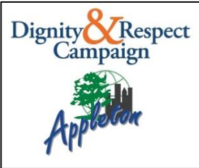 Dignity & Respect Campaign Appleton Logo