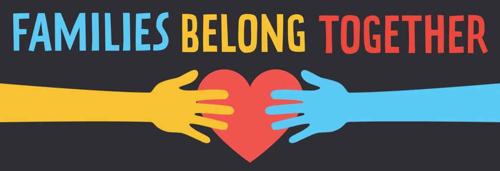Families Belong Together Banner