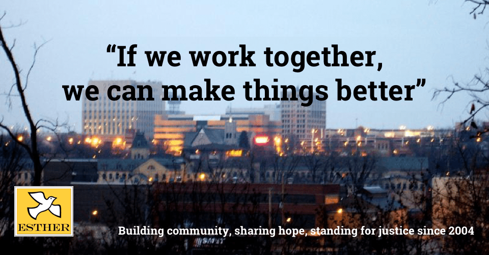 If we work together, we can make things better