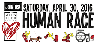 Join Us - Human Race, April 30