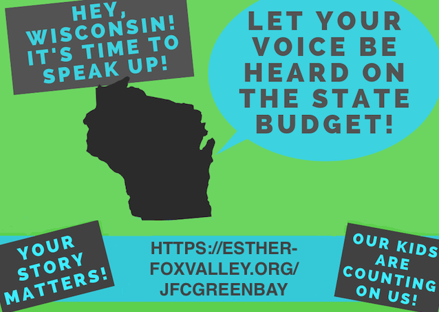 Joint Finance Committee Green Bay Hearing Poster