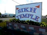 Sign of Sikh Temple, Menasha, WI