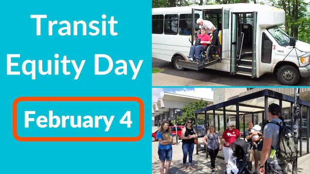 Transit Equity Day - February 4