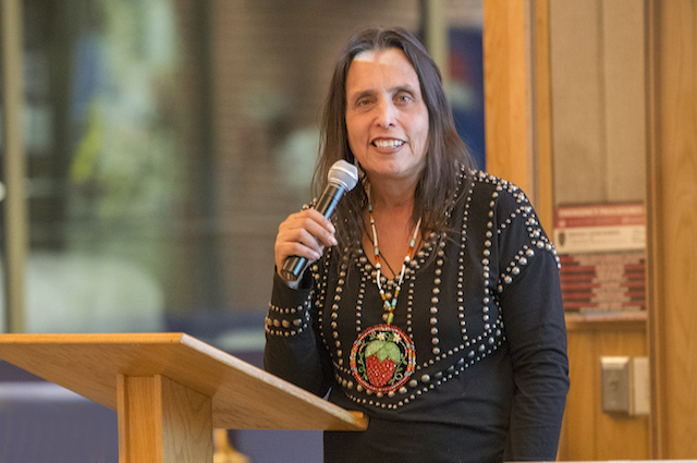 Winona LaDuke at Bemidji State University